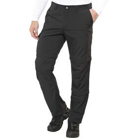 Maier Sports Saale Spodnie z odpinanymi nogawkami Mężczyźni, black